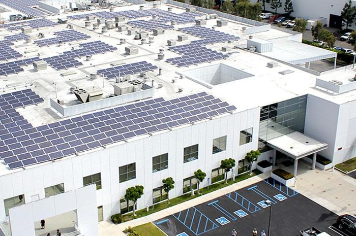 hóa chất rửa tấm pin năng lượng mặt trời Biên Hoà 1