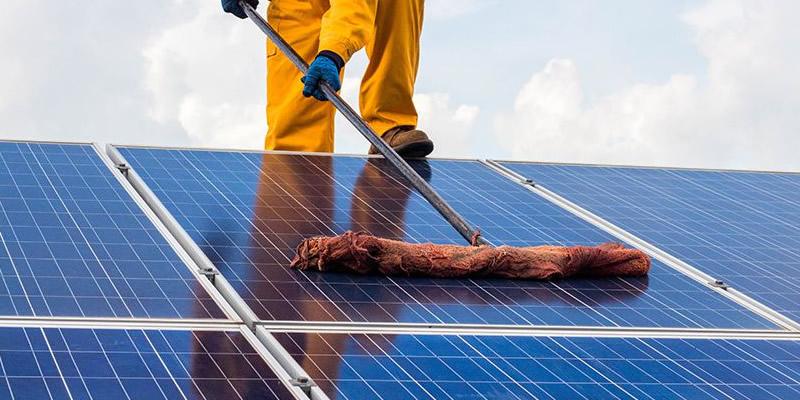 green eco cung cấp nước rửa pin năng lượng mặt trời hiệu quả
