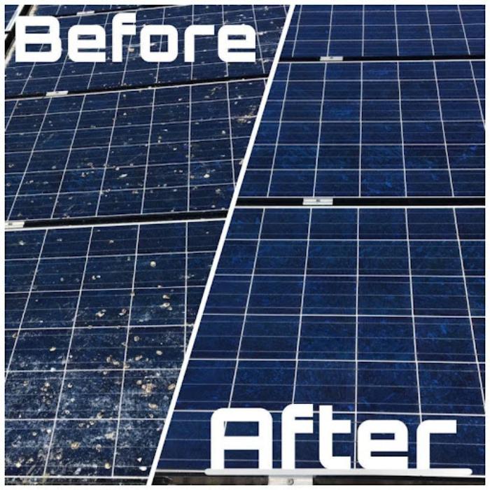 nước rửa tấm pin năng lượng mặt trời Bình Phước 2